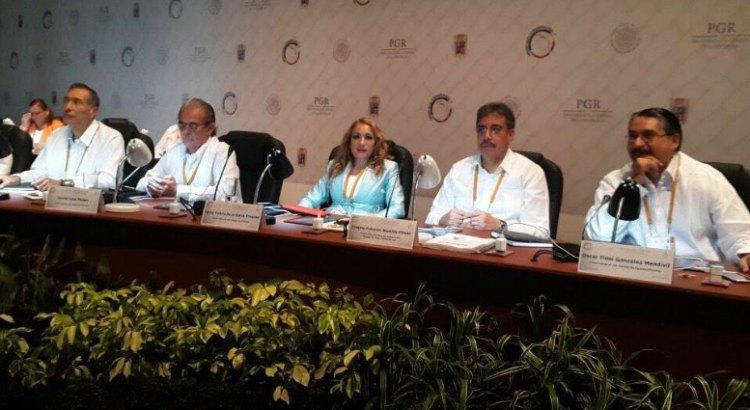 Presente BCS en la XXV Asamblea de la Conferencia Nacional de Procuración de Justicia
