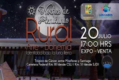 Invitan a Noches de Plenilunio Rural