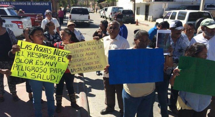 Se manifestaron colonos de Cangrejos y Caribe
