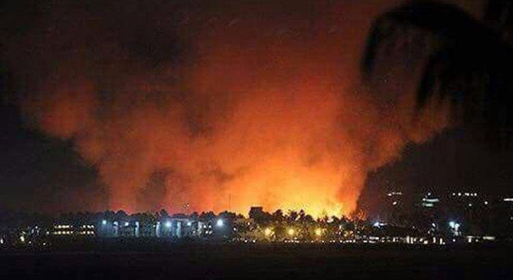 Arrasaron las llamas con vivienda en Los Planes