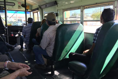 Buscan alternativas para mejorar el transporte público