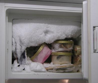 Escondió a su mujer en el refrigerador