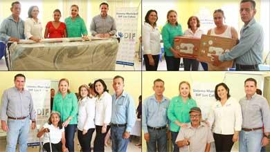 Entrega DIF Los Cabos apoyos a mirafloreños