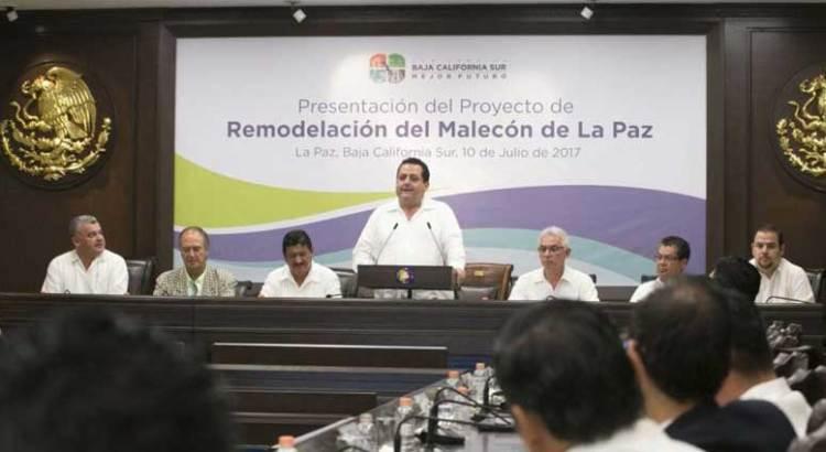 Presentan proyecto de remodelación del malecón de La Paz
