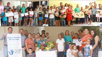 Clausura Vianey Núñez cursos de los Centros de Desarrollo