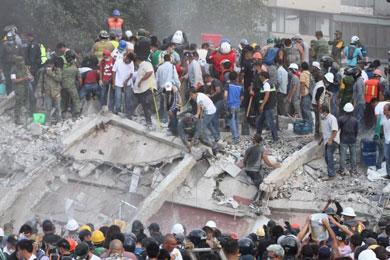 Confirman 149 muertos en cuatro entidades por terremoto
