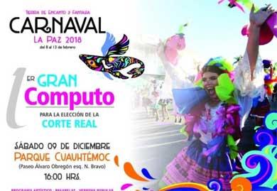 Realizarán primer cómputo del Carnaval