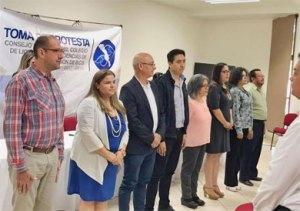 El Colegio de Licenciados en Ciencias de la Comunicación (CLCC), realizó este fin de semana, el evento protocolario de la toma de protesta de su nuevo Consejo Directivo
