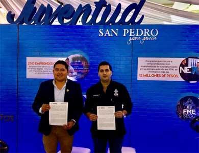 Firman convenio IMJ de Los Cabos y de San Pedro Garza García, NL
