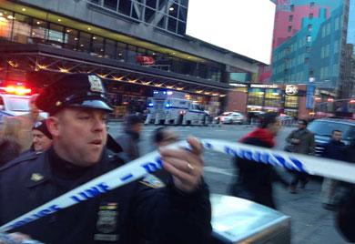 Atentado explosivo en  Nueva York
