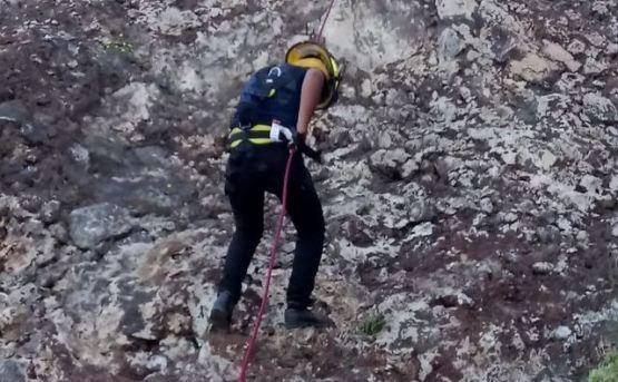 H. Cuerpo de Bomberos de Loreto realizó exitoso rescate en la Sierra de Tabor