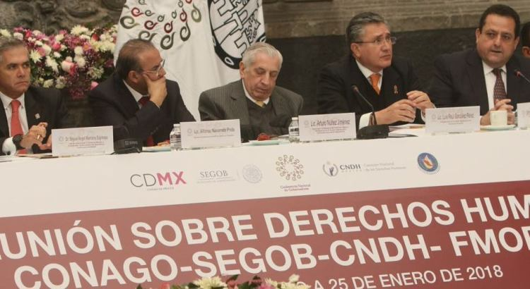 Participa CMD en reunión de la Conago