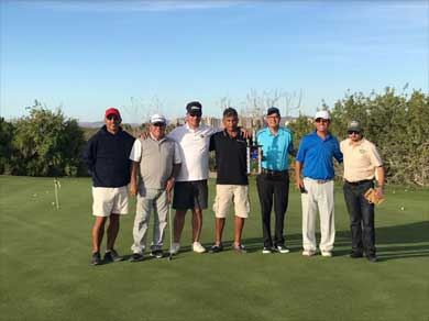 Exitoso torneo de golf