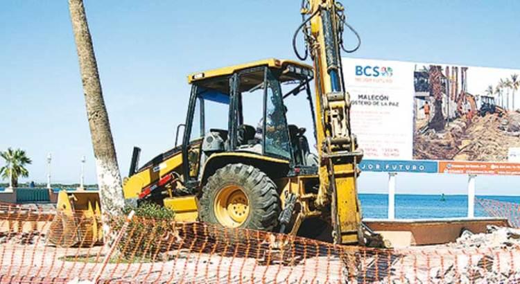 Suspenderán obras de remodelación del malecón paceño