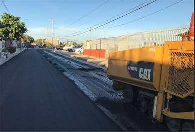 Realiza Obras Públicas trabajos de mantenimiento