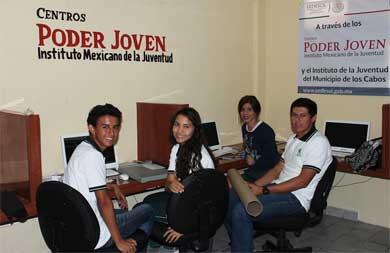 """Los Cabos, único municipio en el país con 5 Centros """"Poder Joven"""""""