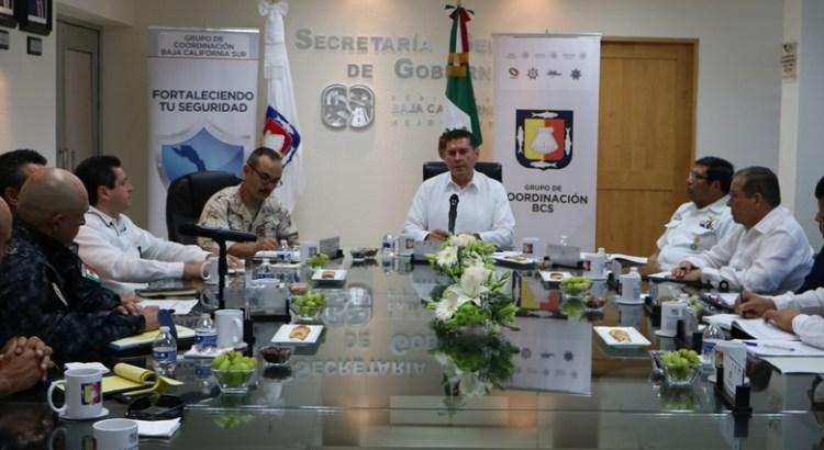 Refuerza Grupo de Coordinación operatividad y tareas de prevención: Álvaro de la Peña