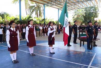 Continúa recorrido de la Bandera Monumental en SJC