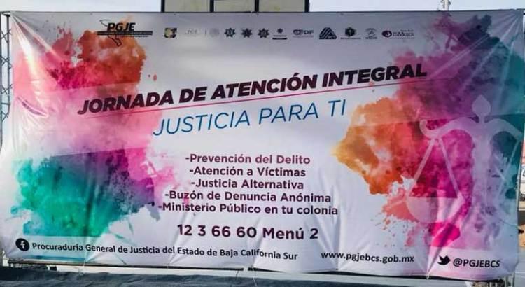 """Llevan a cabo  Primera Jornada """"Justicia para Ti"""""""