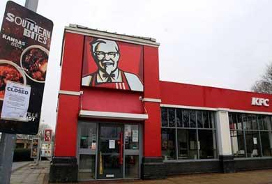 Cierra KFC cientos de restaurantes