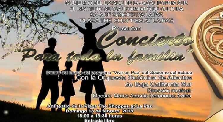 """Gran concierto """"Para toda la familia"""""""