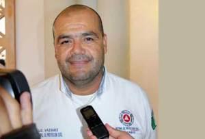 Marco Antonio Vázquez Rodríguez titular de Protección Civil Los Cabos.