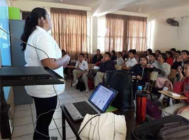 Inician pláticas de nutrición en instituciones educativas