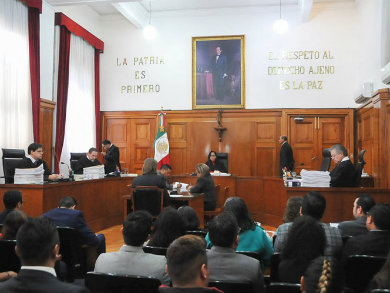 Admite Corte a trámite controversia contra Ley de Seguridad