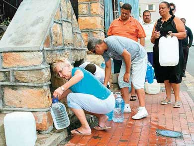Declaran catástrofe natural en Sudáfrica