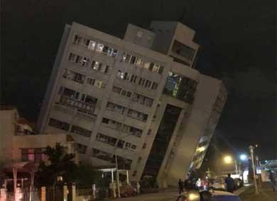 Sacude sismo a Taiwán