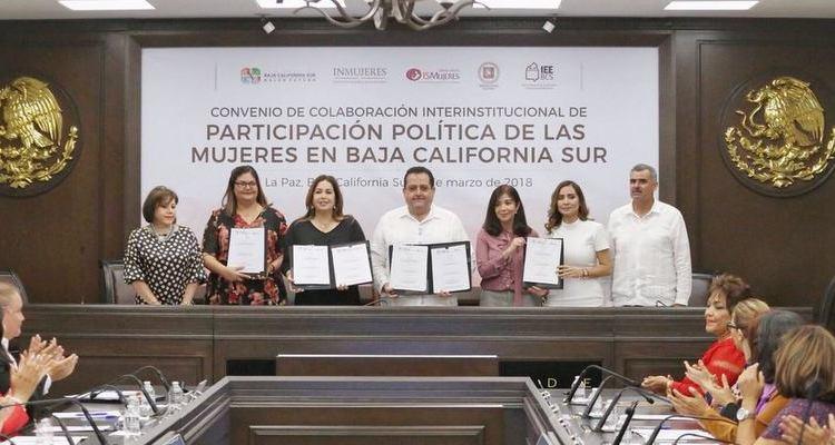 Instalan en BCS Observatorio de Participación Política de las Mujeres