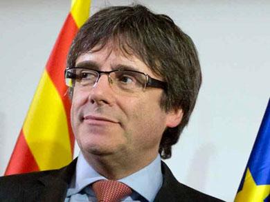 Detienen al expresidente catalán Puigdemont