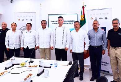 Se reunió en Los Cabos el grupo de Coordinación de Seguridad