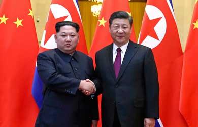 Confirman la visita de Kim Jong Un a China