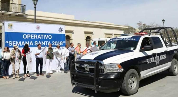 """Inicia operativo """"Semana Santa 2018"""""""