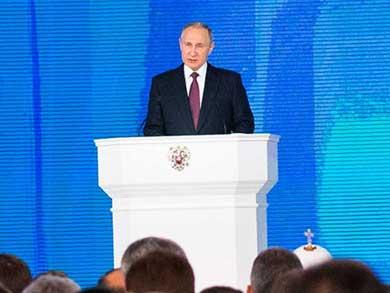 Presume Putin sus nuevas armas nucleares