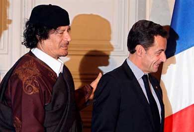 Sarkozy bajo arresto