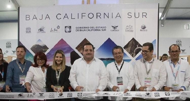 Baja California Sur se promociona en el Tianguis Turístico de Mazatlán