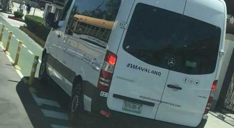 Invadida la Ciclovía por unidades de transporte de personal