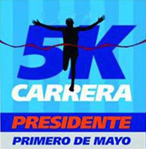 "Lista la ""Carrera 5K Presidente"""