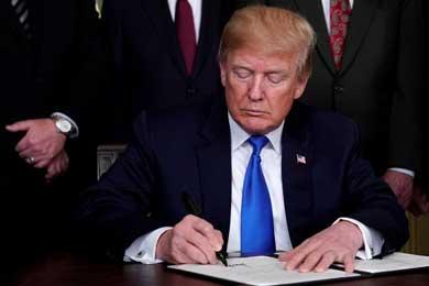 Decreta Trump envío de la Guardia Nacional a la frontera