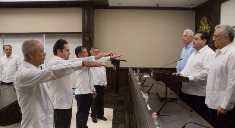 Anuncia el gobernador Carlos Mendoza cambios en su gabinete