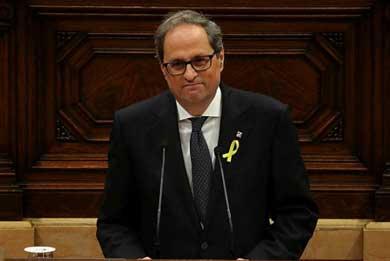 Desafía a España el Presidente de Cataluña