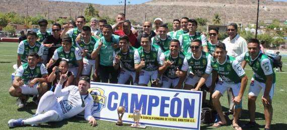 """La Paz """"B"""", se quedó con el título en el campeonato estatal de futbol categoría libre"""