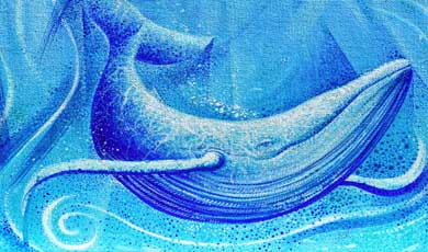 Navegante de agua y piedra