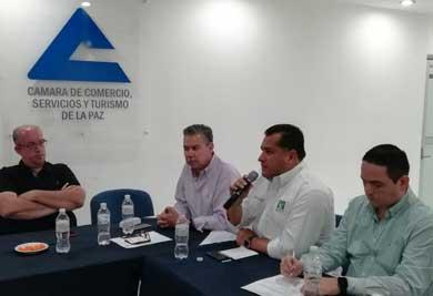 Se reunió Saúl González con integrantes de la CANACO