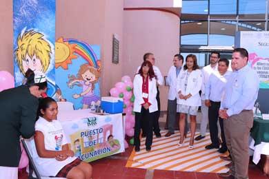 Arrancó la  segunda Semana Nacional de Vacunación