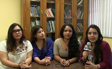 Realizan alumnas de la UABCS estancia académica al interior del país
