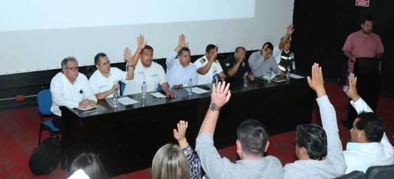 instalación del Consejo de Protección Civil en la delegación de Cabo San Lucas