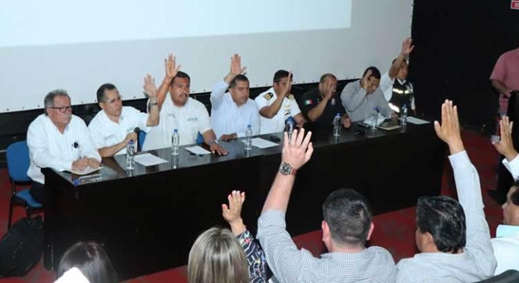 Instalaron el Consejo de Protección Civil en CSL